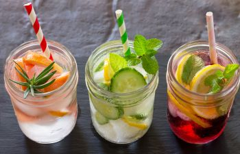 Water With Fruits